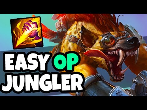 HE'S SO EASY AND OP - CARRY WITH WARWICK JUNGLE!