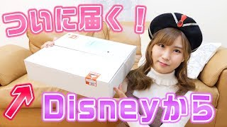 【最高・・・。】ディズニーから届いたダンボール箱を開封!
