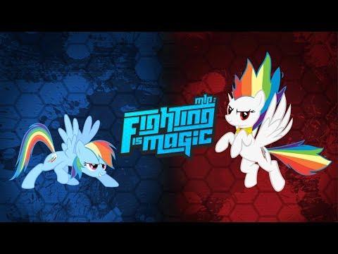 Fighting Is Magic - Rainbow Dash VS Super Rainbow Dash #7/7