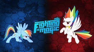 Fighting is Magic - Rainbow Dash VS Super Rainbow Dash #7/7