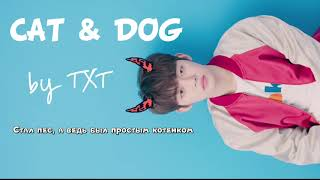 TXT - CAT & DOG [Rus.sub] [Рус.саб] Karaoke / Караоке