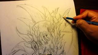 How to draw a super villian: Doomsday from DC Comi