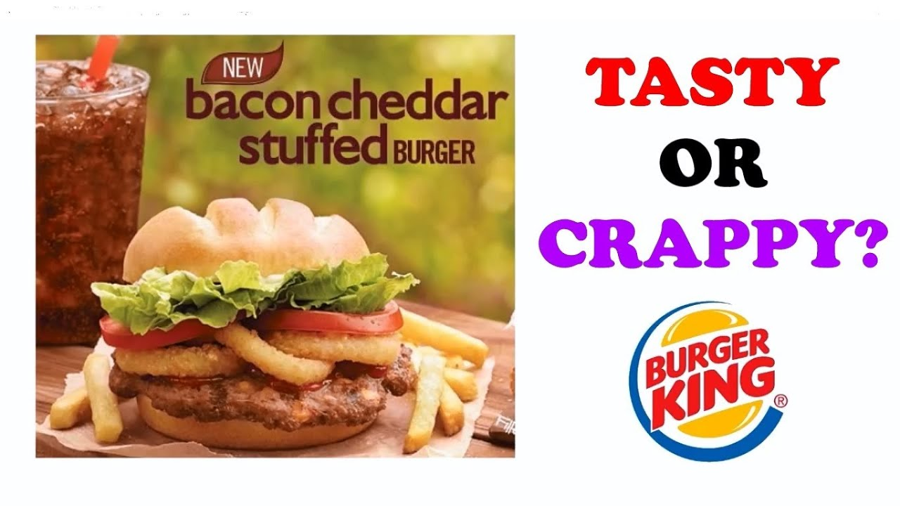 Quintuple Whopper Bacon and Cheddar stuffed