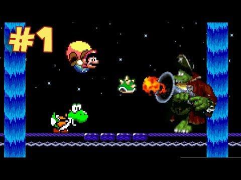 ¿El Mejor Hack de Super Mario World? - Jugando Brutal Mario con Pepe el Mago (#1)