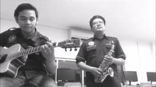 Ibu Kita Kartini Saxophone Fingerstyle Guitar Cover