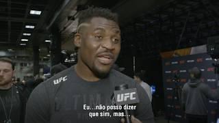 """UFC Phoenix: Francis Ngannou - """"Eu quero o cinturão"""""""