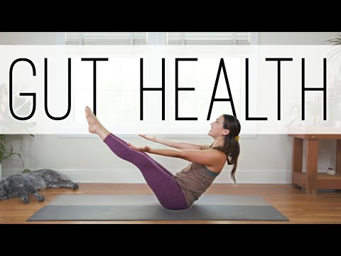 Yoga For Gut Health  |  18 Min. Yoga Practice  |  Yoga With Adriene thumbnail