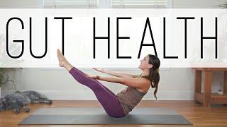 Yoga For Gut Health  |  18 Min. Yoga Practice  |  Yoga With Adriene
