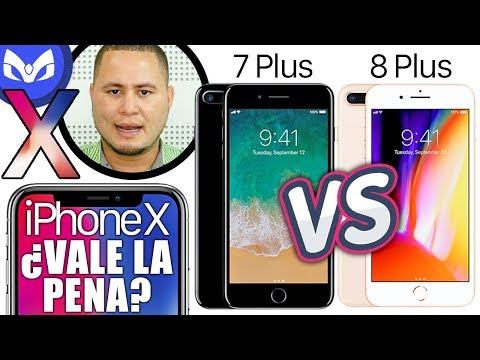 IPhone X Vs IPhone 8 Plus Vs IPhone 7 Plus CUAL COMPRAR ?