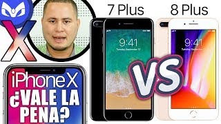 iPhone X vs iPhone 8 Plus vs iPhone 7 Plus CUAL COMPRAR ?