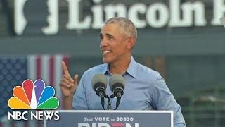 Barack Obama Holds Campaign Event For Joe Biden | NBC Nightly News