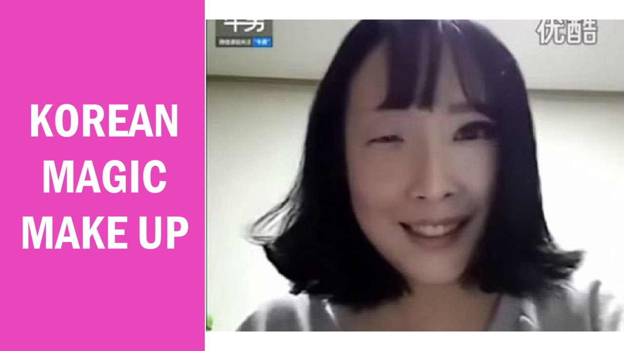 make up wajah wanita korea selatan yang menghebohkan dunia maya