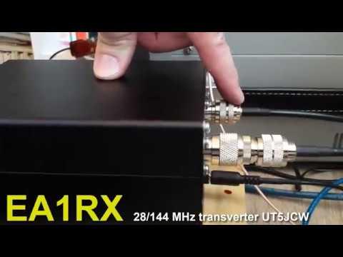 Repeat Transverter Ucraina 144/28 Mhz  e kenwood ts2000 by