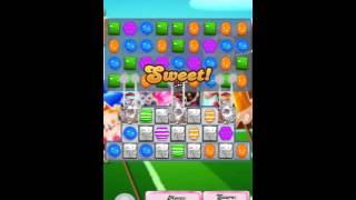 Candy crush Saga level 1434 walk through no booster