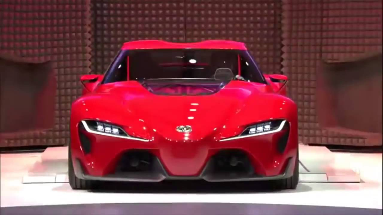 Toyota Supra Ft1 >> Awesome 2016 Toyota Supra FT1 - YouTube