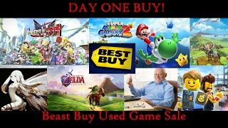 Day One Buy: Beast Buy Used Game Sale