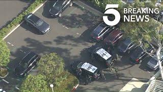 Pursuit of Mercedes-Benz Ends in Newport Beach Standoff