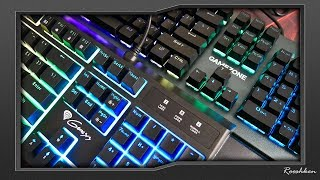 Thor 200 RGB VS Mecano Pro - Porównie klawiatur Hybrydowych od Genesis i Tracera