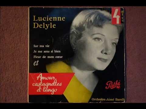 lucienne DELYLE / Amour, castagnettes et tango  / 1956