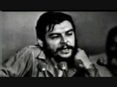 Che Guevara Memorial video- Gil Scott Heron The Revolution Will Not Be Televised