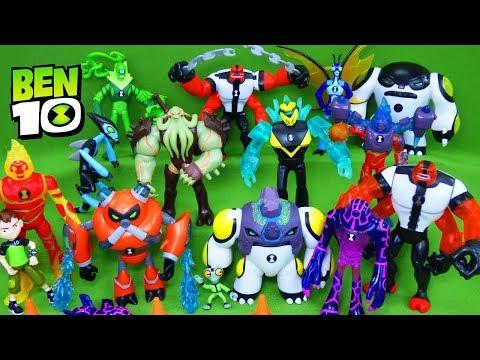 БЕН ТЕН ЧАСЫ ОМНТИРИКС и Фабрика Героев. Бен 10 Игрушки BEN10 Omnitrix Toys