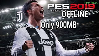 PES 2019 ANDROID mod Far Camera PS4 - PPSSPP EMULATOR ANDROID Gameplay