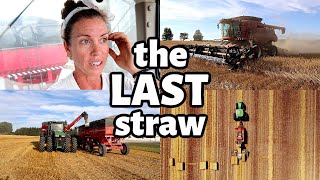 ONE BIG DAY!  (The Last Day of Wheat Harvest 2020): Vlog 332
