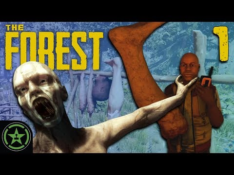 I Found This Leg! - The Forest (#1) | Let's Play
