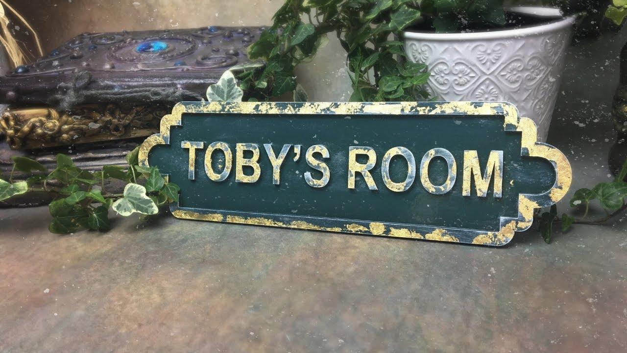 Door/Name Plaque Tutorial