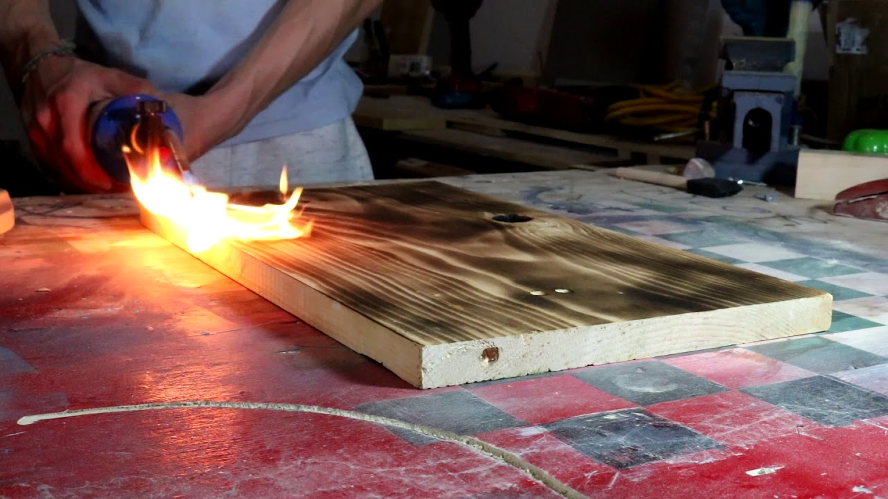 How To Wood Burn With A Torch You
