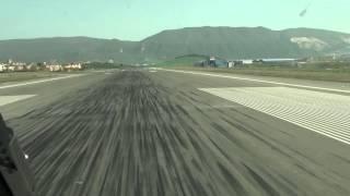 PilotCAM View Landing at Pamplona