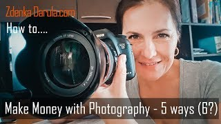 Make Money with Photography - 5 ways