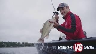 Ranger VS1670SC Aluminum Deep V On-Water Footage