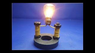 How to make free energy generator with magnet. Listrik gratis dari magnet