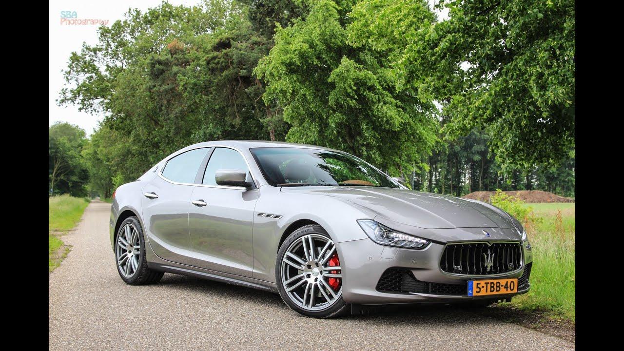Maserati Ghibli S Q4 >> Maserati Ghibli SQ4 loud revs and acceleration - YouTube