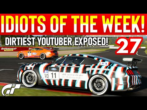 Gran Turismo Sport Idiots of the Week #27