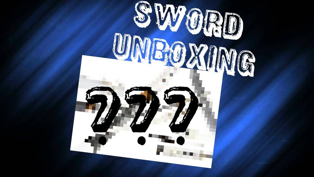 Sword Unboxing Birthday Gift To Myself