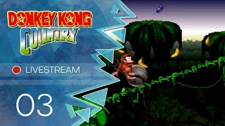 Donkey Kong Country [Livestream] - #03 - Bonus um Bonus