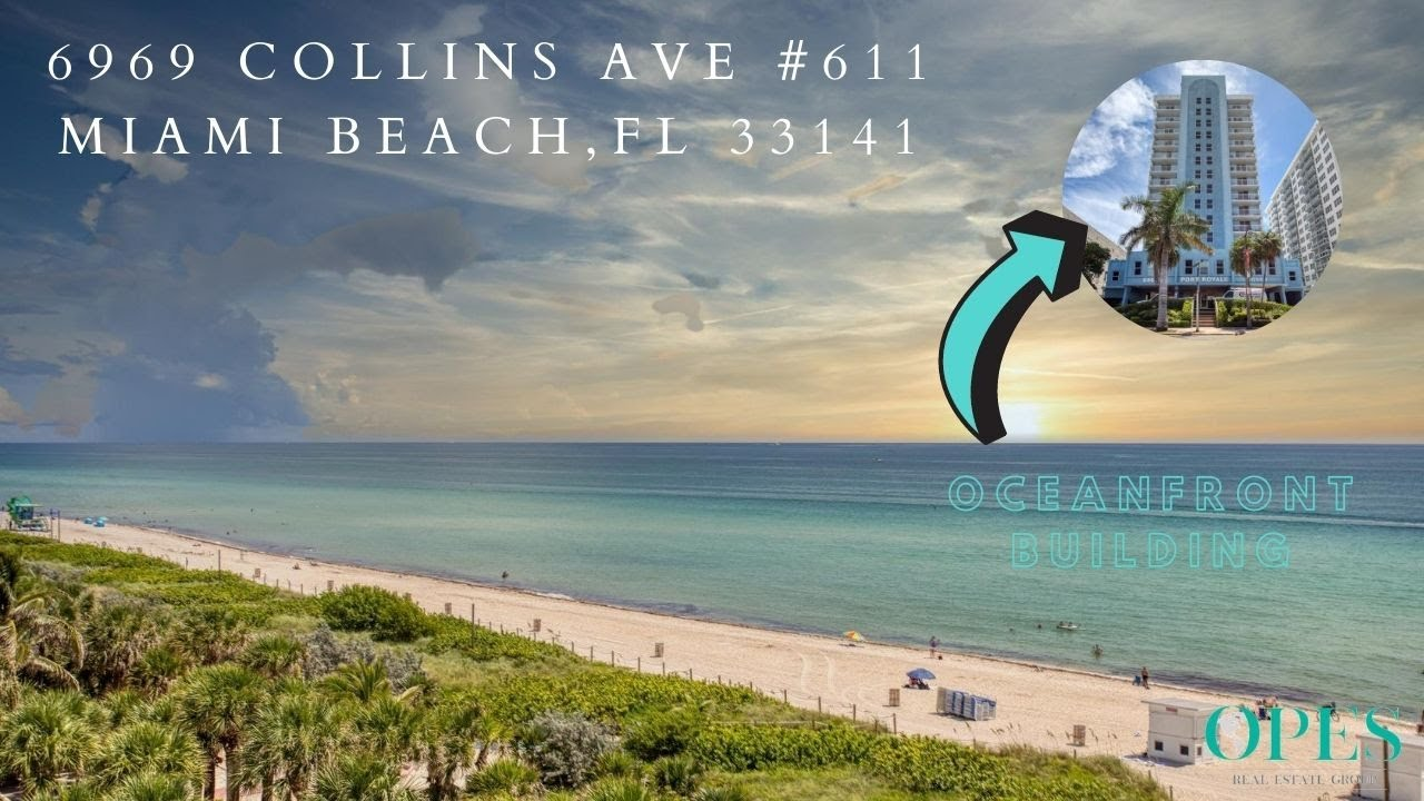 Rent Oceanfront With Ocean Views! 6969 Collins ave unit 611, Miami Beach, FL 33141