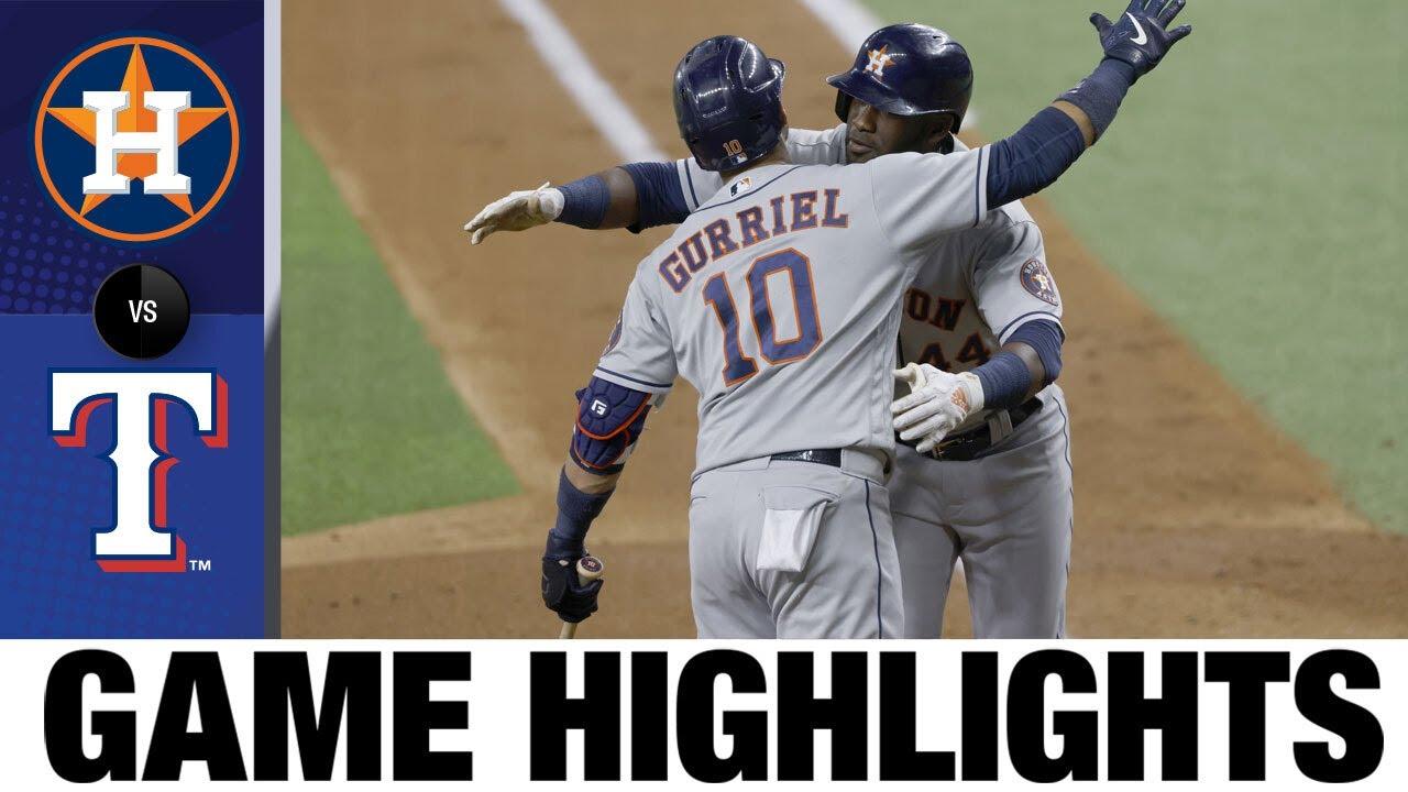 Download Astros vs. Rangers Game Highlights (9/13/21) | MLB Highlights