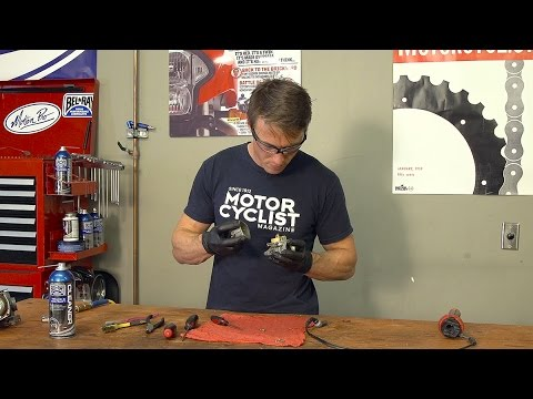 How To Clean A Motorcycle Carburetor | MC GARAGE
