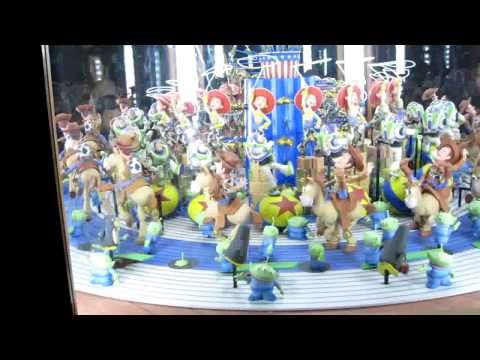 Toy Story Zoetrope at California Disney