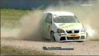 VW Polo Cup Rollover
