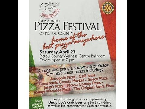 Pictou County Pizza Top 3 for Me