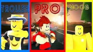 *2019 Edition* NOOB vs TROLLER vs PRO | Roblox Jailbreak