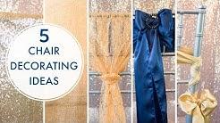 5 Chiavari Chair Decorating Ideas | BalsaCircle.com