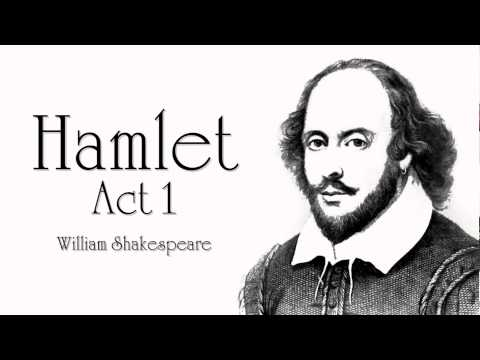 Shakespeare  Hamlet Act 1 book Dramatic Reading