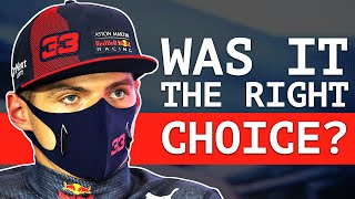 Red Bull Reveal Why They Didn't Keep Max Out