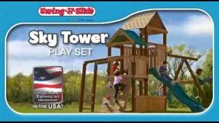 Timer-bilt Sky Tower By Swing-n-slide