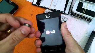 LG L3 II E425F - NÃO LIGA - ANÁLISE DO DEFEITO